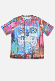 Wearable Art Tango Hotel Skull Fence All Over Shirt