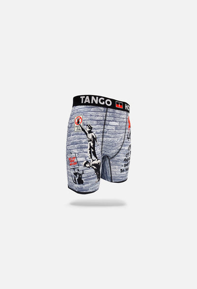 Brandalised x Tango Hotel Graffiti is a Crime Boxer Brief
