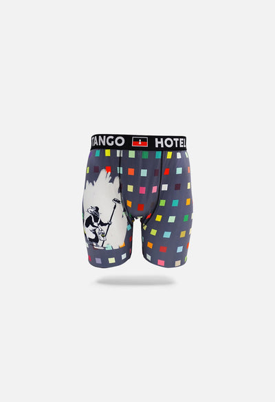 Brandalised x Tango Hotel Squares Rat Boxer Brief