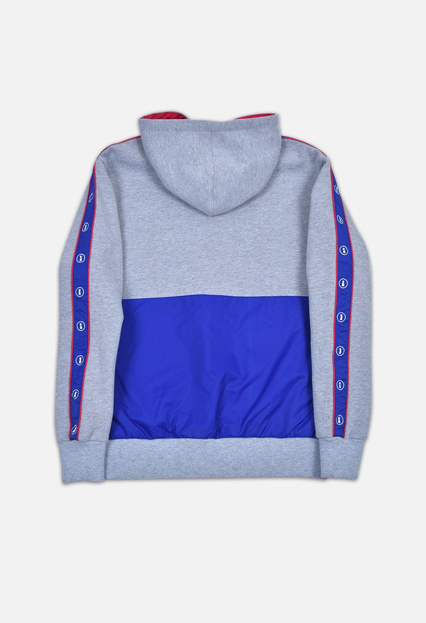 GREY THC COLOR BLOCK HOODIE TRACKSUIT