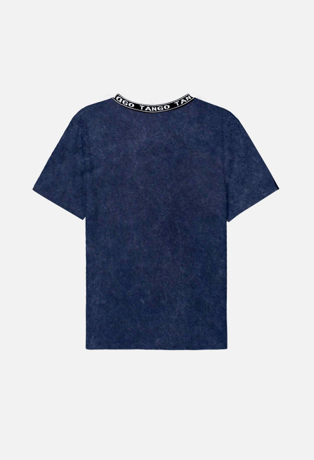 Mona Launcher Collar Tee
