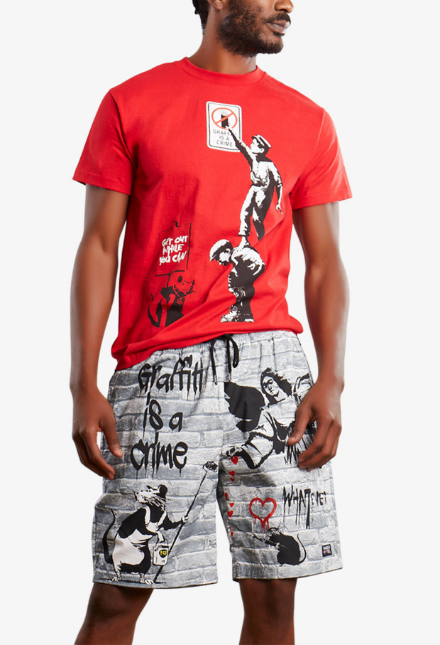 Graffiti Is A Crime Tee