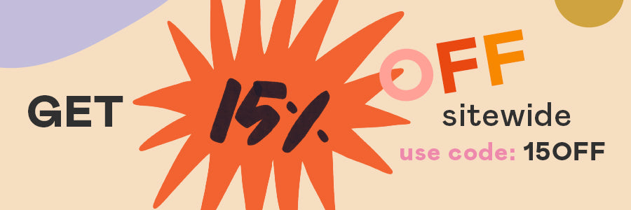 Get 15% off sitewide - use code: 15OFF