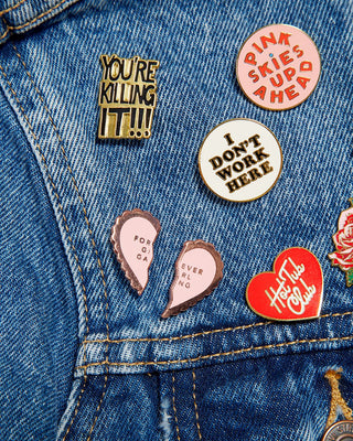 Enamel Pin - Forever Girl Gang