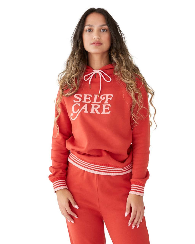 Self Care Pullover Hoodie