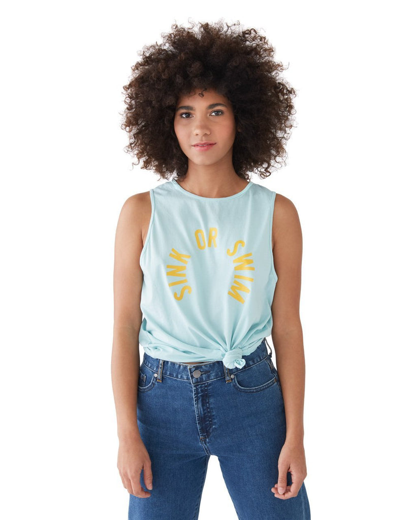 sink or swim tank top