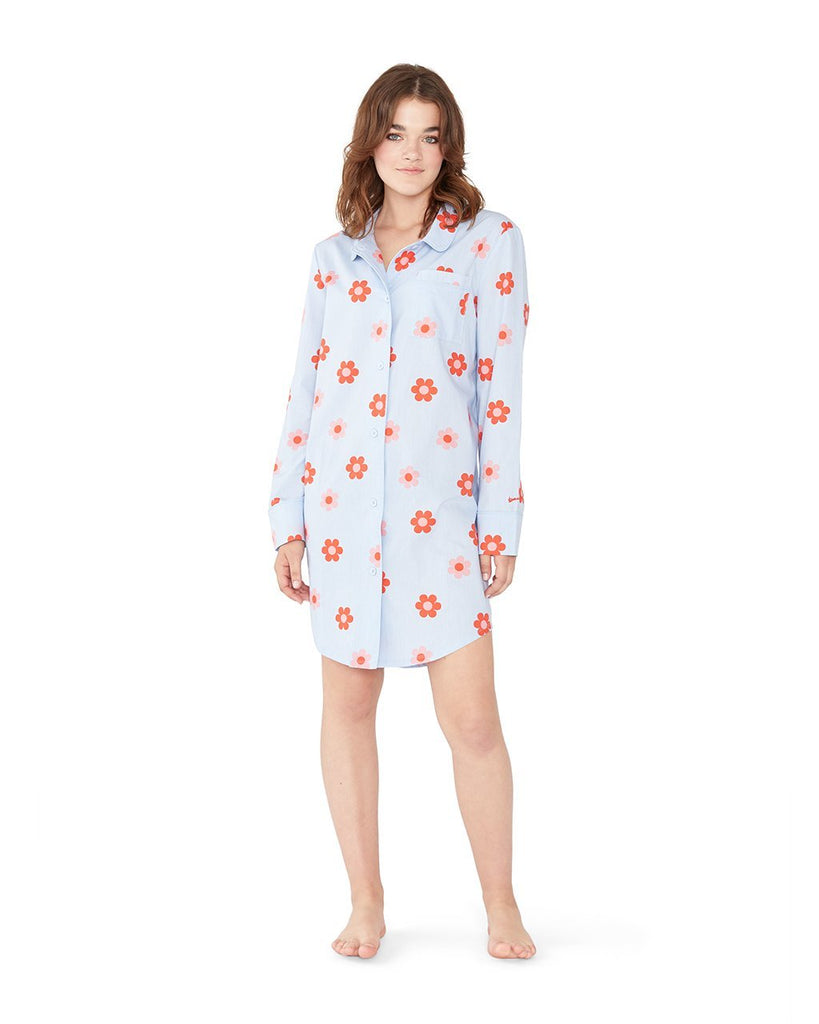 Retro Daisy Sleep Dress
