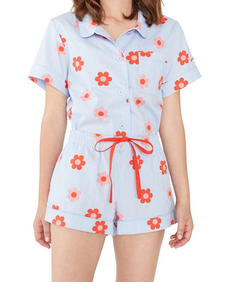 Retro Daisy Sleep Short