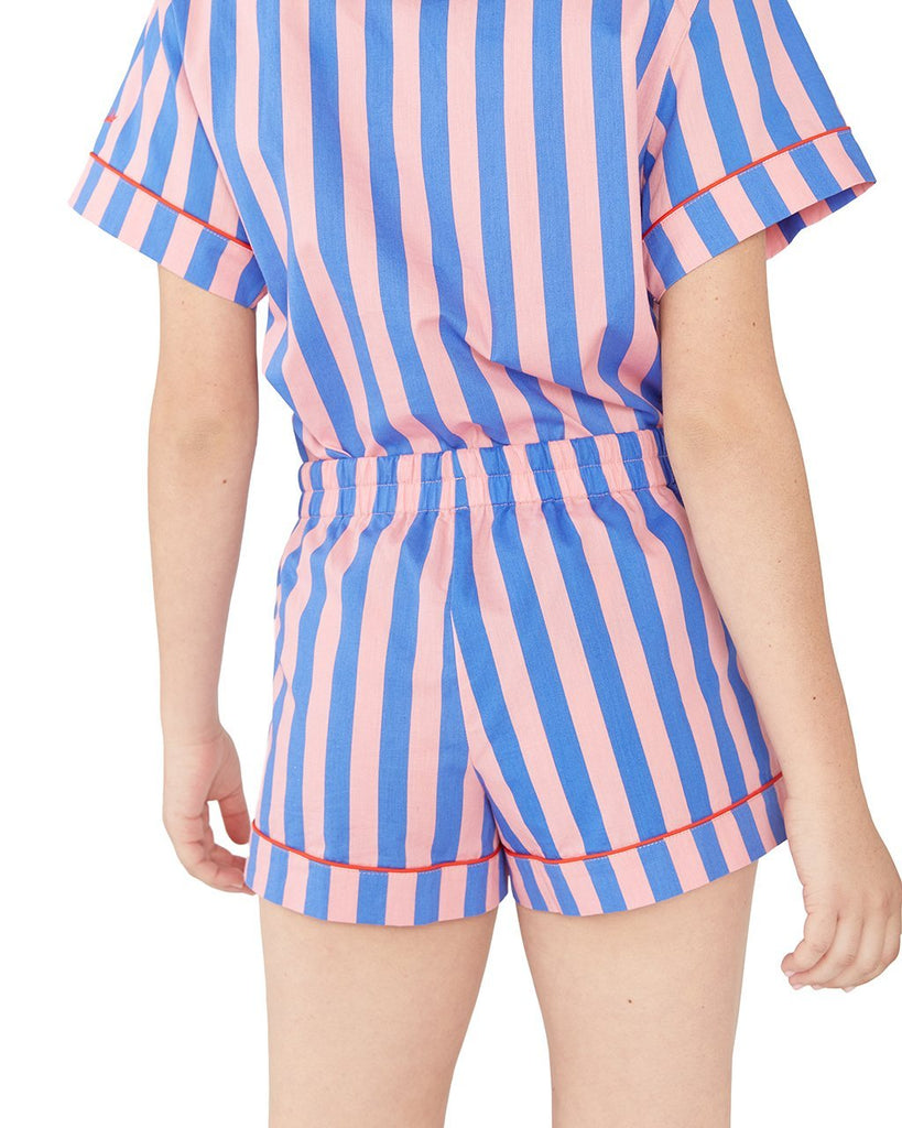 Indigo & Sleepy Pink Sleep Short
