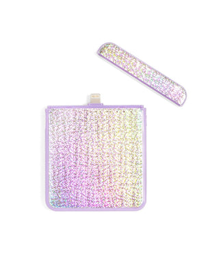 back me up! mobile iphone charger - disco + lilac