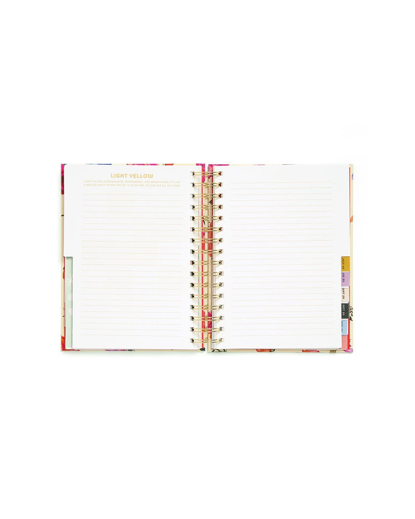 Medium 12-Month Annual Planner - Potpourri