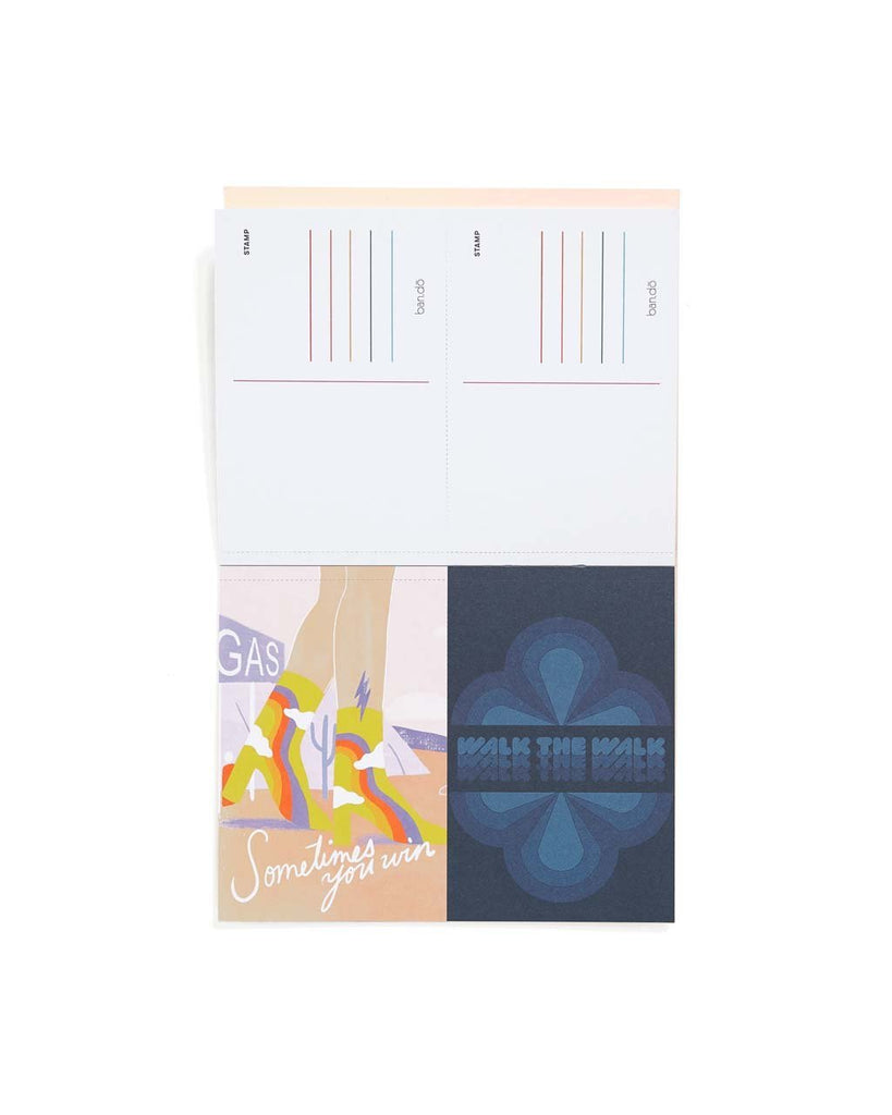 Artist Collection Postcard Book - Rainbow