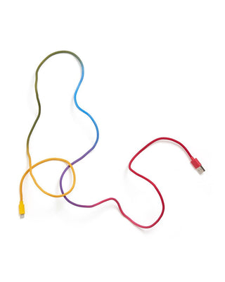 Back Me Up! Charging Cord - Rainbow