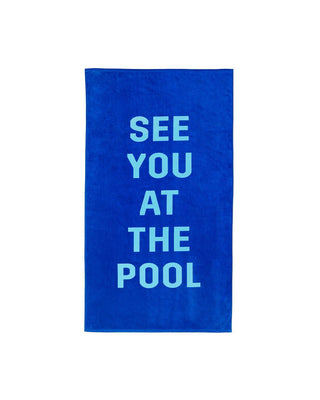 Beach, Please! Giant Towel - See You At The Pool