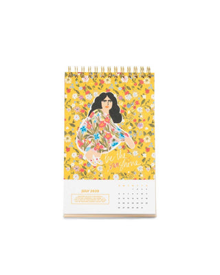 Best Year Ever Desk Calendar - Rainbow
