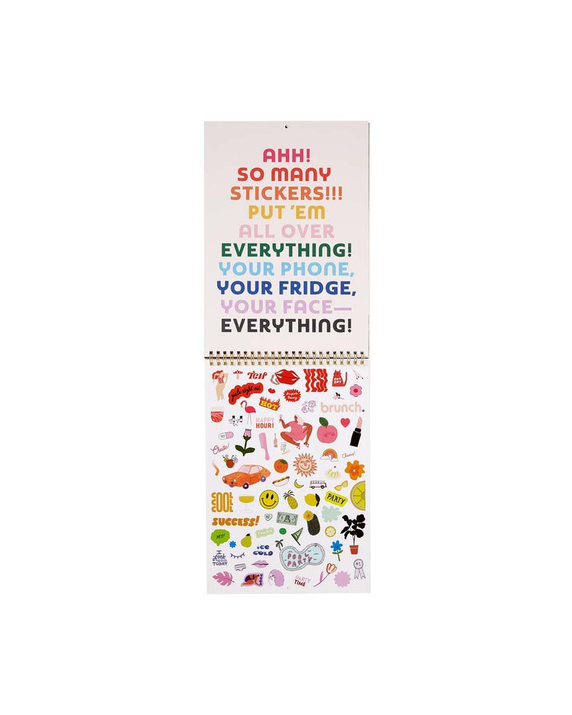 Best Year Ever Wall Calendar - Rainbow