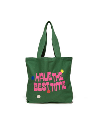 Big Canvas Tote - Best Time