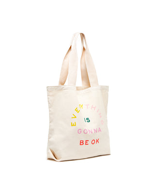 Big Canvas Tote - Gonna Be Ok