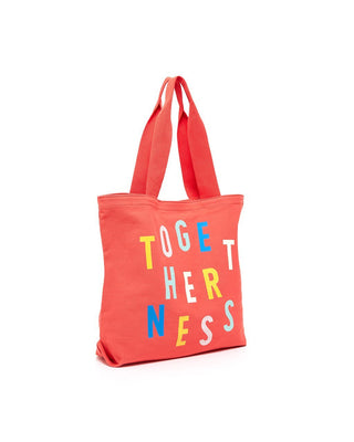 big canvas tote - togetherness