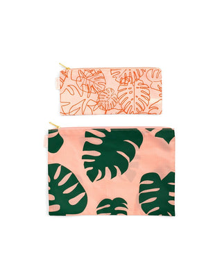 Carryall Duo - Monstera