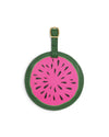 Getaway Round Luggage Tag - Watermelon