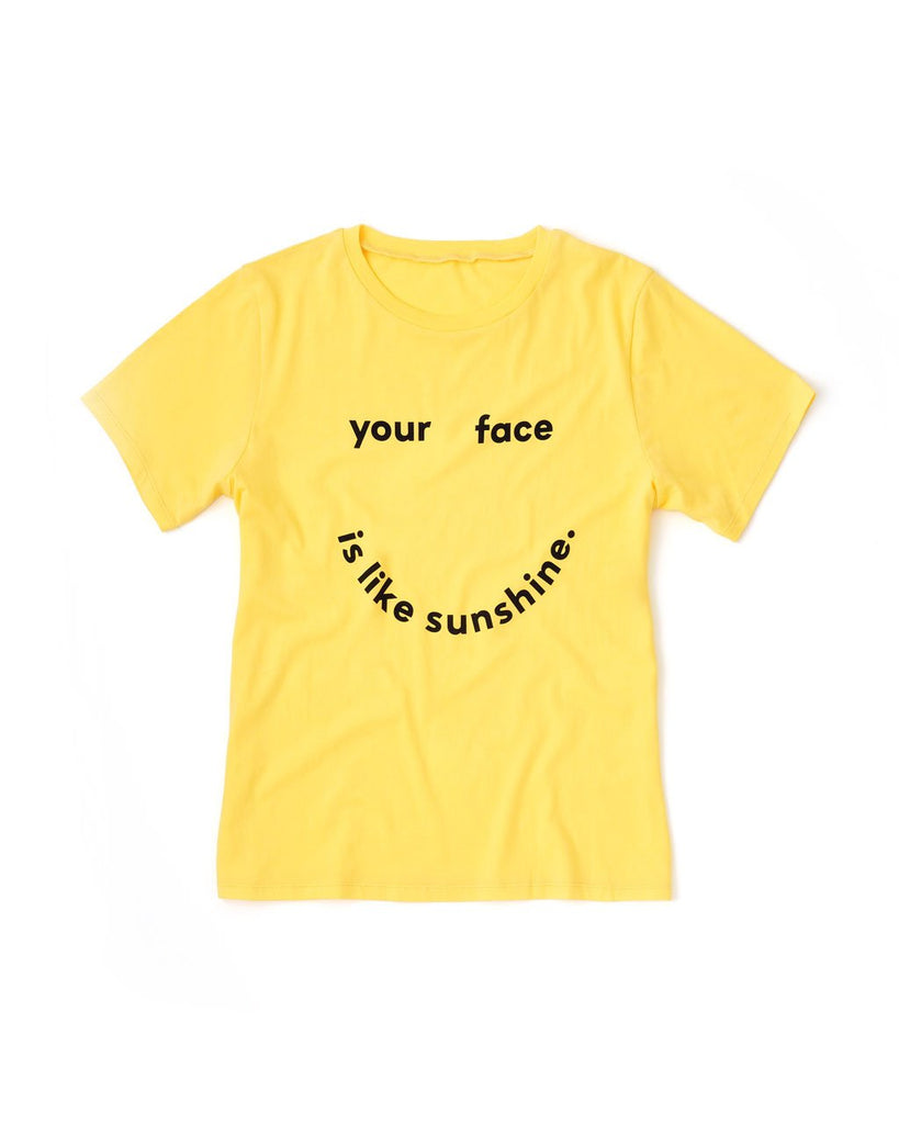 shopthelook_sunshine tee