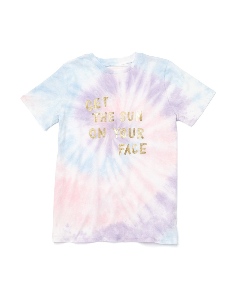 Get the Sun on Your Face Tie-Dye Tee