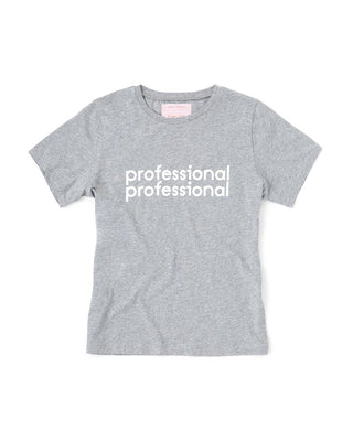 professional professional tee - heather grey