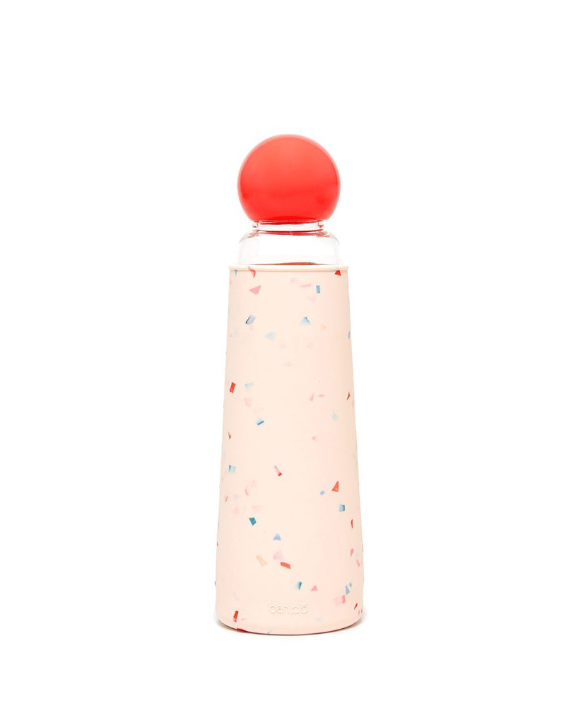 Cool It Glass Water Bottle - Confetti