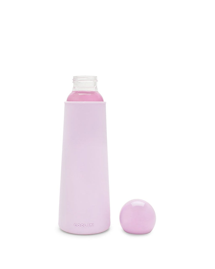 Cool It! Glass Water Bottle - Lilac
