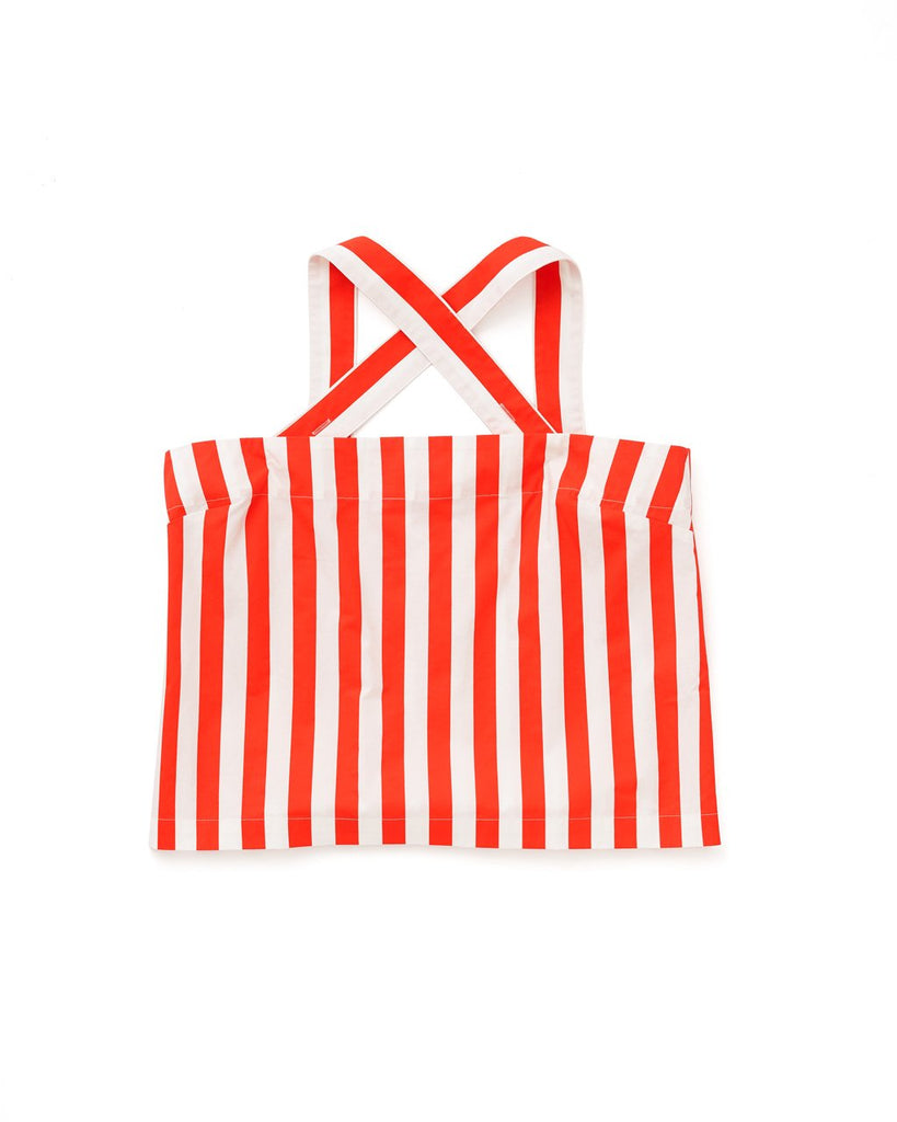 Easy Tank - Red/Ivory Stripe