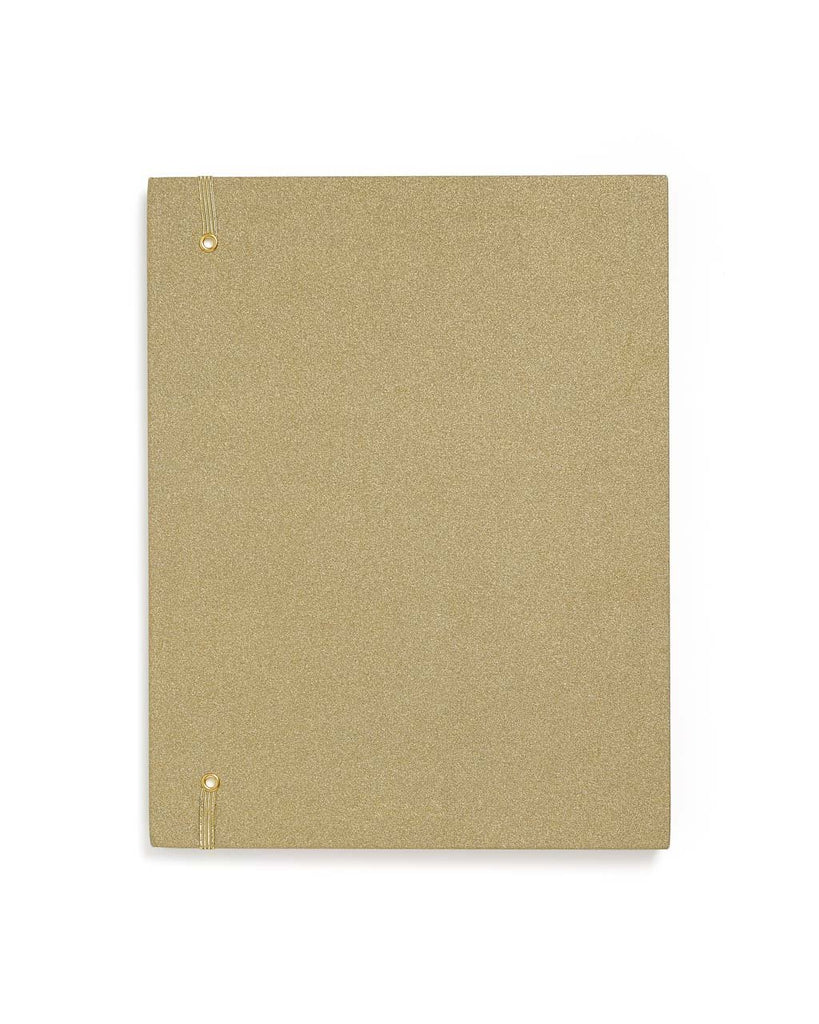 Get it Together File Folder - Gold Glitter