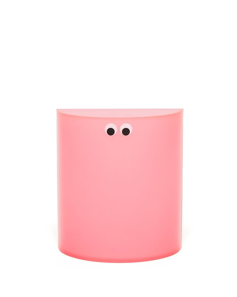 desk buddies pencil cup - frosted pink