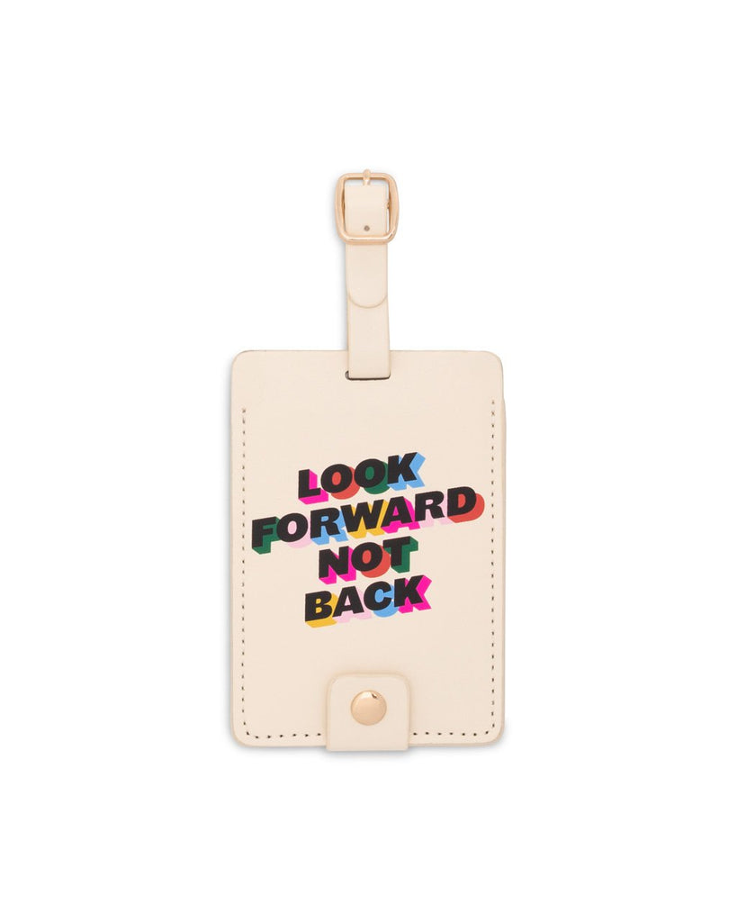 Getaway Luggage Tag - Look Forward Not Back
