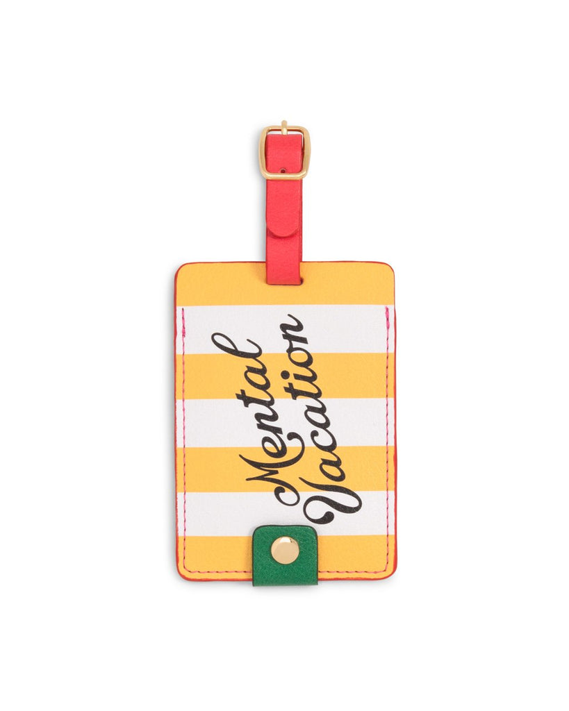 Getaway Luggage Tag - Mental Vacation