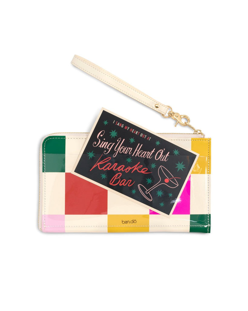 Getaway Travel Wallet - Dance Floor