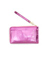 Getaway Travel Wallet - Metallic Pink