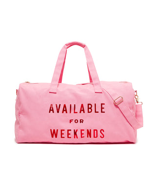 Getaway Duffle Bag - Available For Weekends