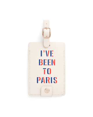 getaway luggage tag - i've been to paris
