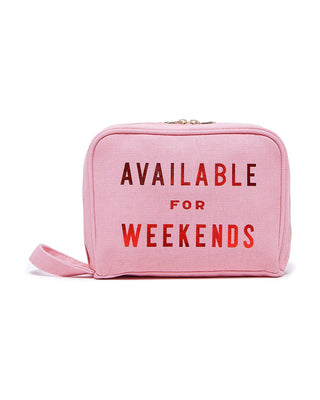 getaway toiletries bag - available for weekends