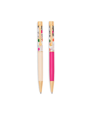 Glitter Bomb Pen Set - Balloon Drop