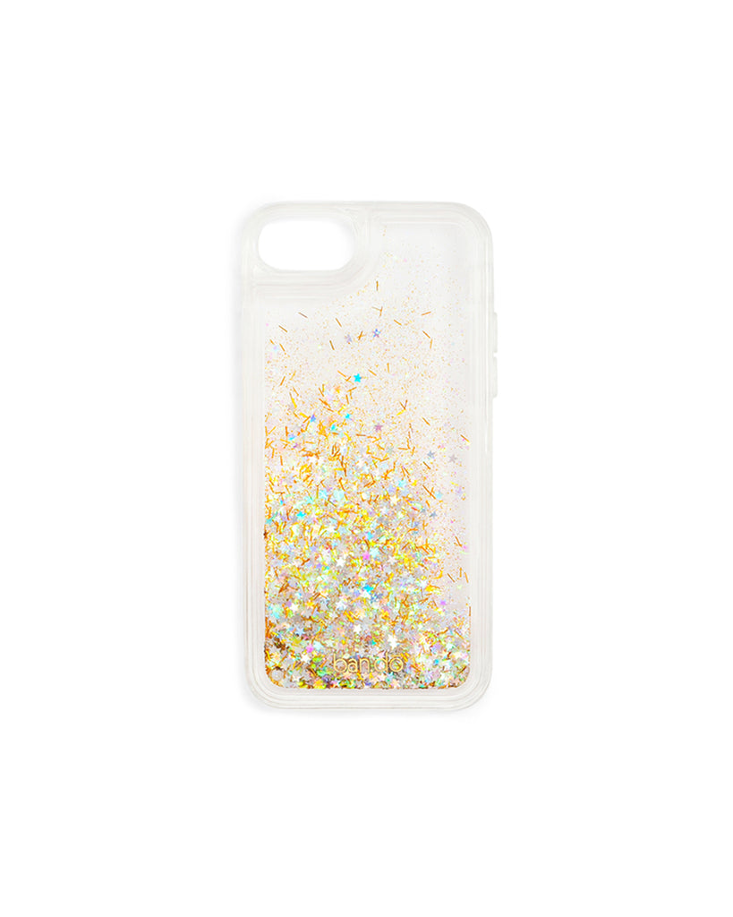 Glitter Bomb iPhone Case - Clear