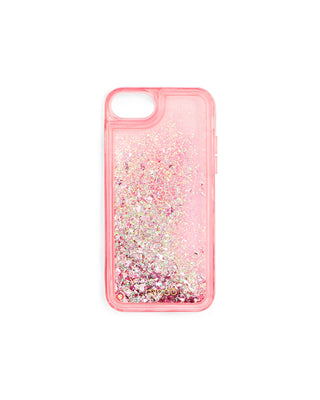 Glitter Bomb iPhone Case - Pink Stardust