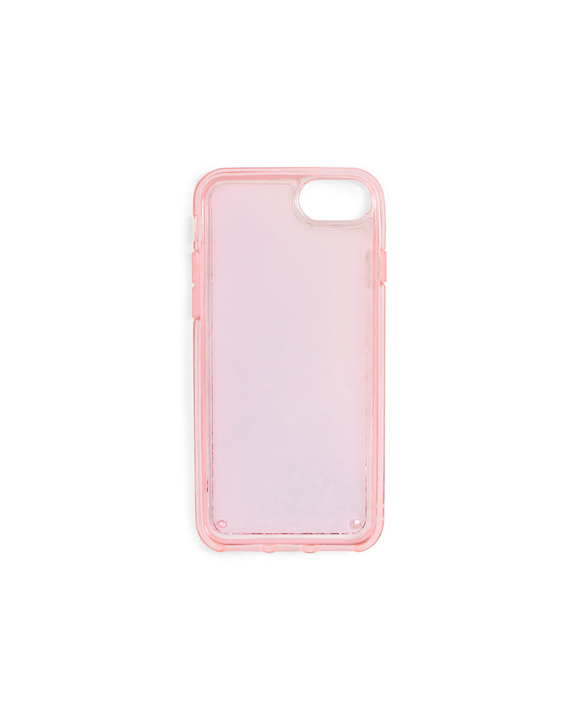 Glitter Bomb iPhone Plus Case - Pink Skies Up Ahead