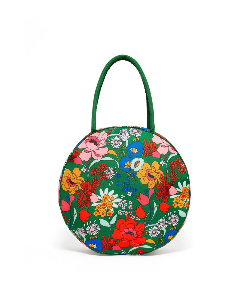 Go Outside Picnic Cooler Bag - Emerald Super Bloom