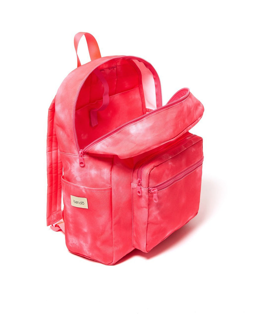 Go-Go Backpack - Hot Pink Tie Dye