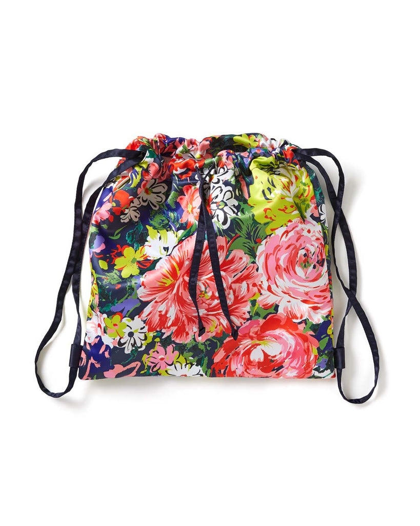 Got Your Back Drawstring Backpack - Flower Shop