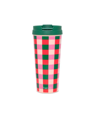 Hot Stuff Thermal Mug - Buffalo Plaid