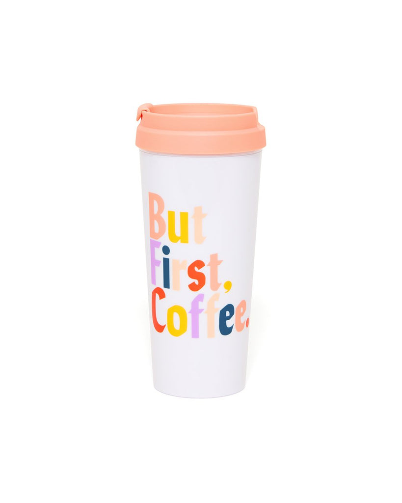 Hot Stuff Thermal Mug - But First, Coffee