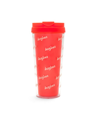 hot stuff thermal mug - bonjour